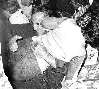 ricardo montalban spanking an actress