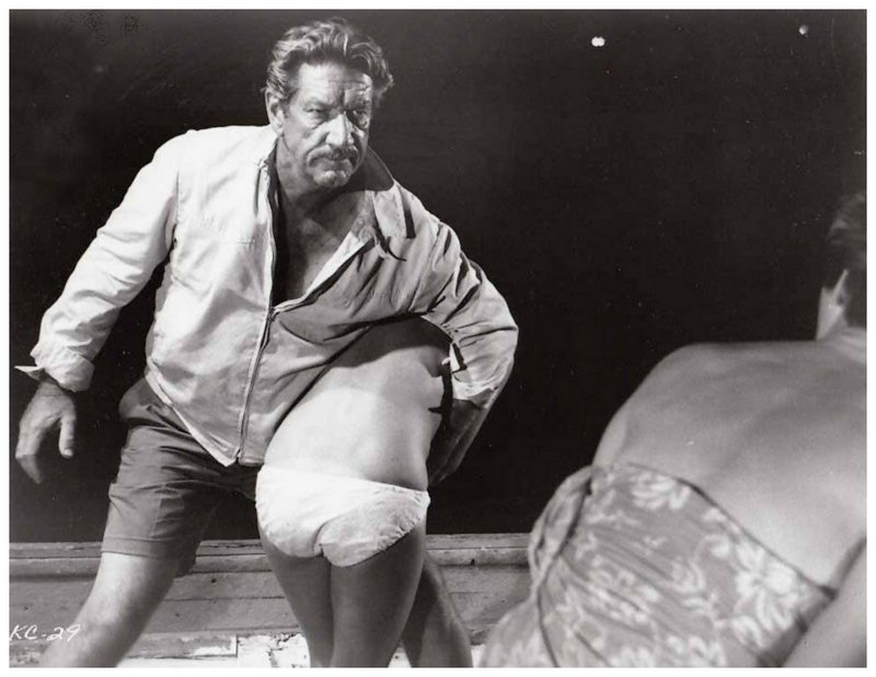 richard boone gives a spanking