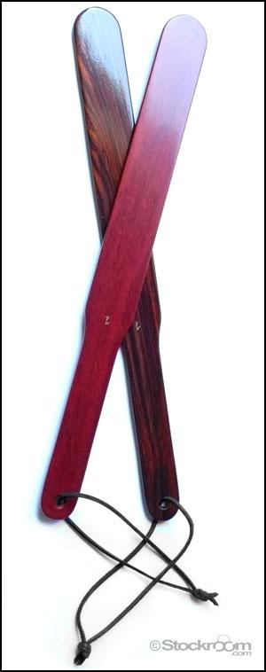 hardwood ruler paddles