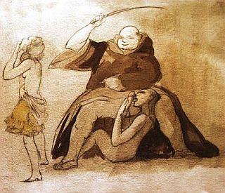 sadistic monk