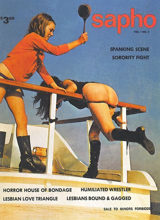 spanking magazine cover