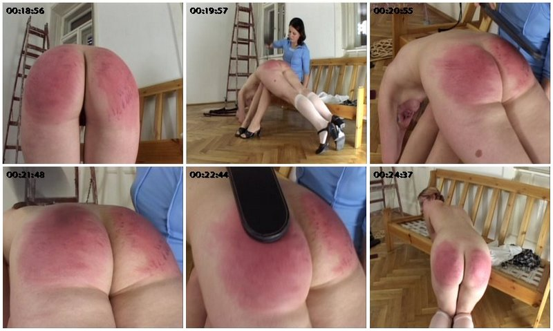 spanked by madam bridget