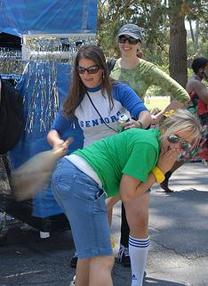 public spanking of college girls