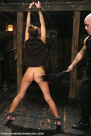 flogging her bottom