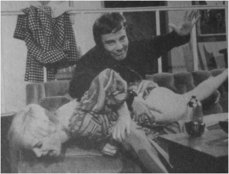 Shari Mann spanking scene in Starlet, 1969 XXX movie