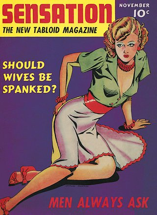 should wives be spanked magazine cover 1939