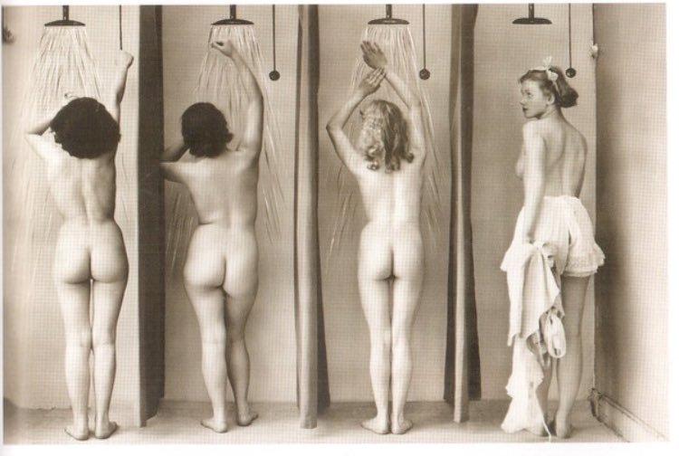 vintage fetish photo shower scence