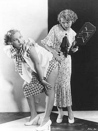 Sweetheart of Sigma Chi spanking photo