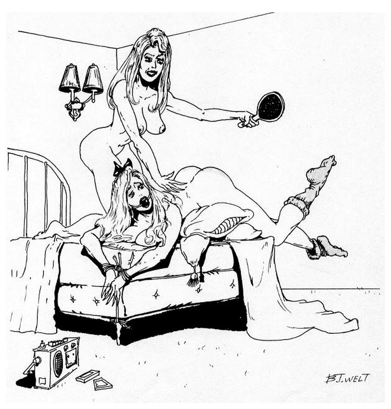 bondage spanking for a submissive sister