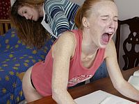 spanking teen jessica