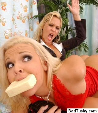 mouthsoaping and spanking