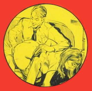 spanking stroke book cover art detail