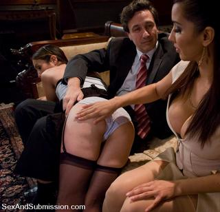 a spanking for a slave wife