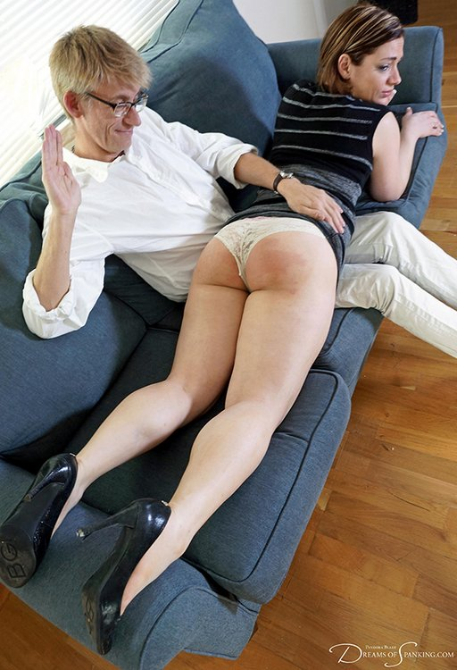 otk bare bottomed spanking from a kinky politician