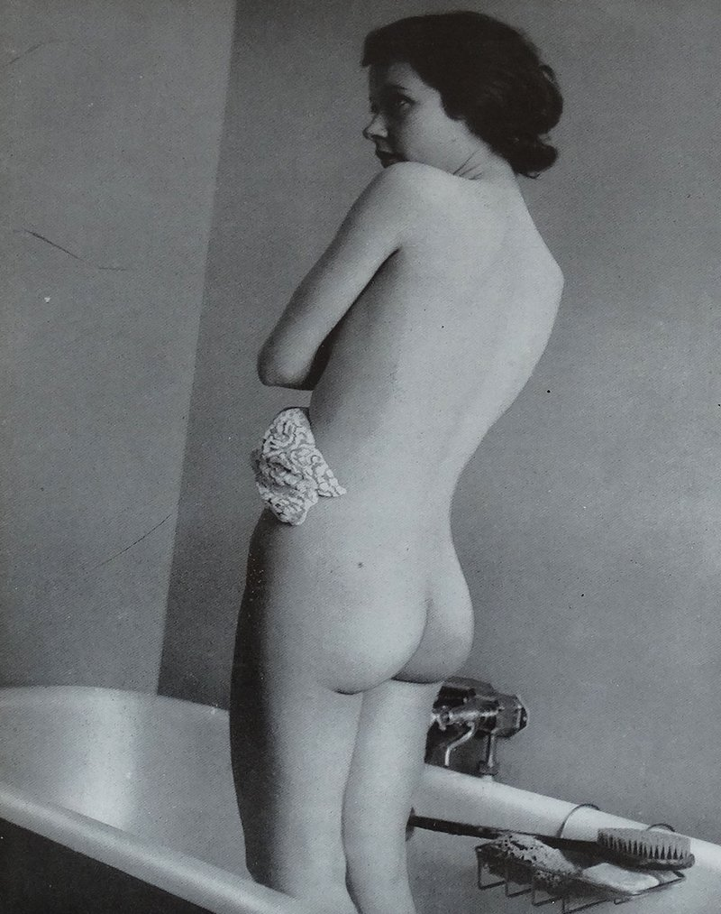 bathtub spanking