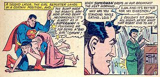 lois lane spanked for scheming to marry Superman