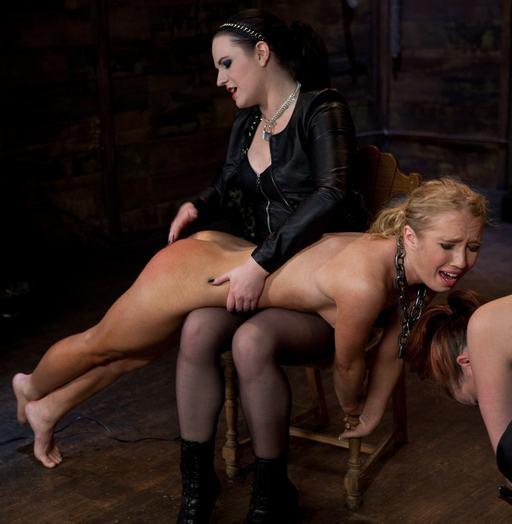 spanking nikki blue