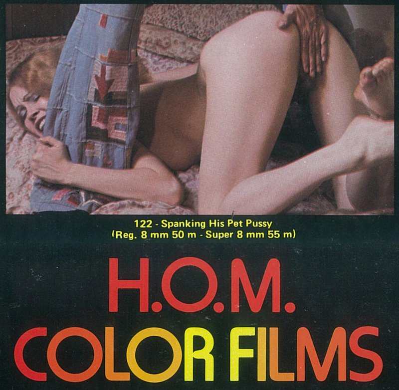 Spanking His Pet Pussy H.O.M. 8mm  loop pre-1983