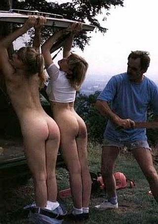 spanked on a picnic