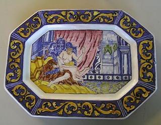 spanking plate china pattern