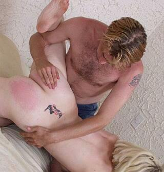 naughty girlfriend gets spanked