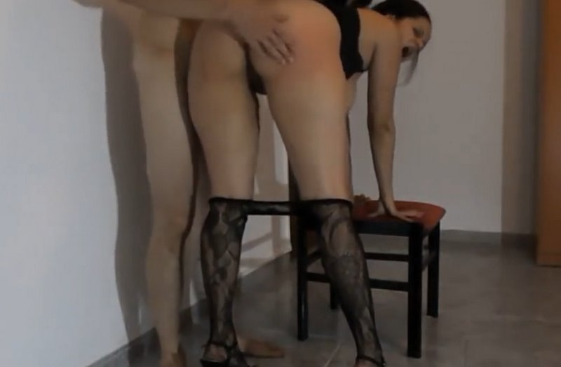 spanked and fucked as punishment for spending her whole allowance
