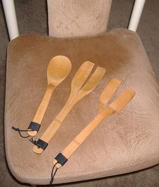broken spanking spoons