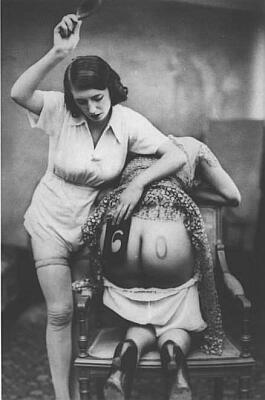 spanking stencil