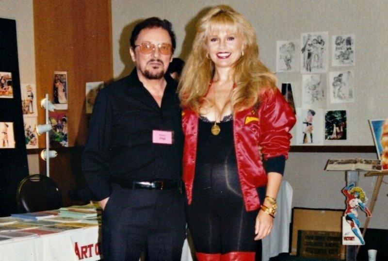 Brit Stanon Eric Stanton's wife -- big blonde amazon