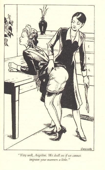 applying the tawse to get better manners