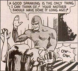 spanked by the phantom