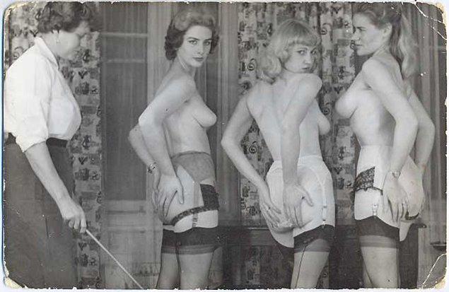 vintage caning postcard