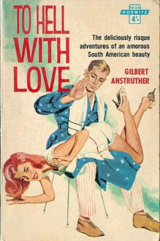 To Hell With Love romance novel book cover with otk spanking