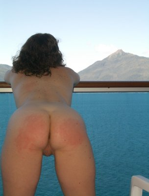 Naked women cruise ship balcony nude sexy