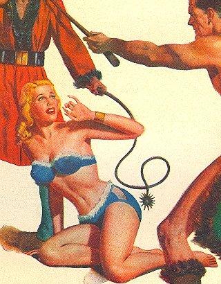 tyrant and slavegirl on venus