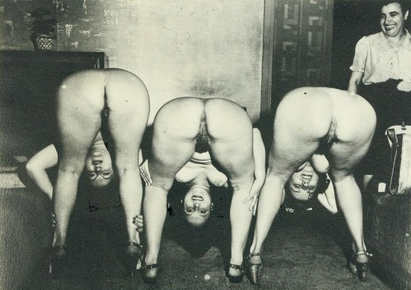 bent over for union hall hazing