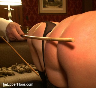 Kait Snow and Jessie Cox caned at The Upper Floor