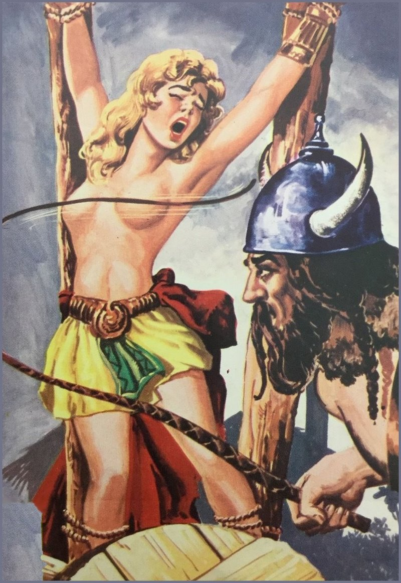 breast whipped by a viking