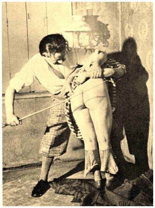 old caning photo