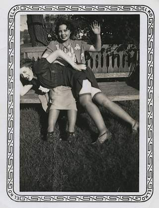 vintage outdoor F/f spanking