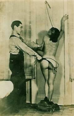 vintage spanking photograph