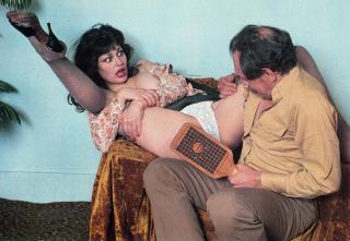 spanking magazine photograph