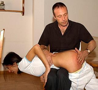 intense hand spanking