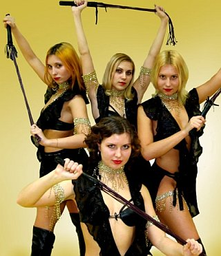 whip dancers from russia