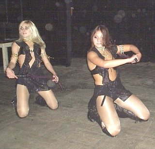 more whip dancers