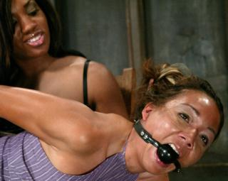 spanked girl gagged and flushed