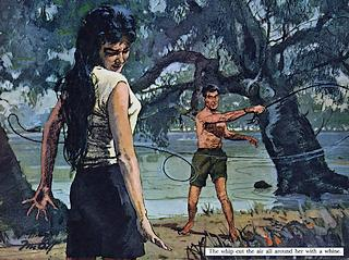 a man and a woman and a bullwhip