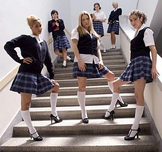 feral lesbian schoolgirl sadists
