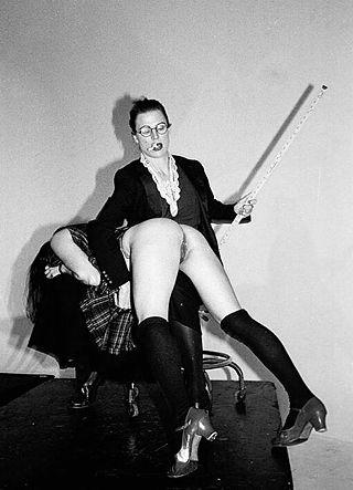 yardstick spanking
