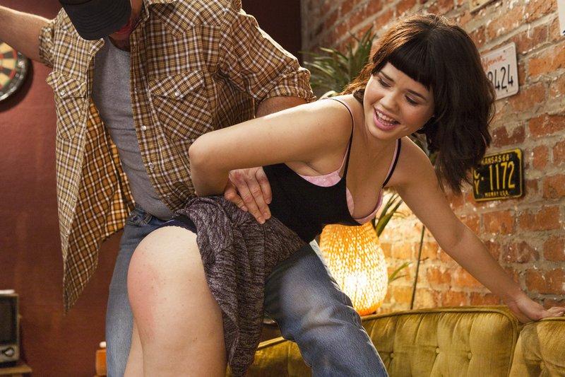 Yhivi enjoys her spanking